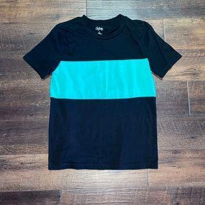 Black & Green T Shirt